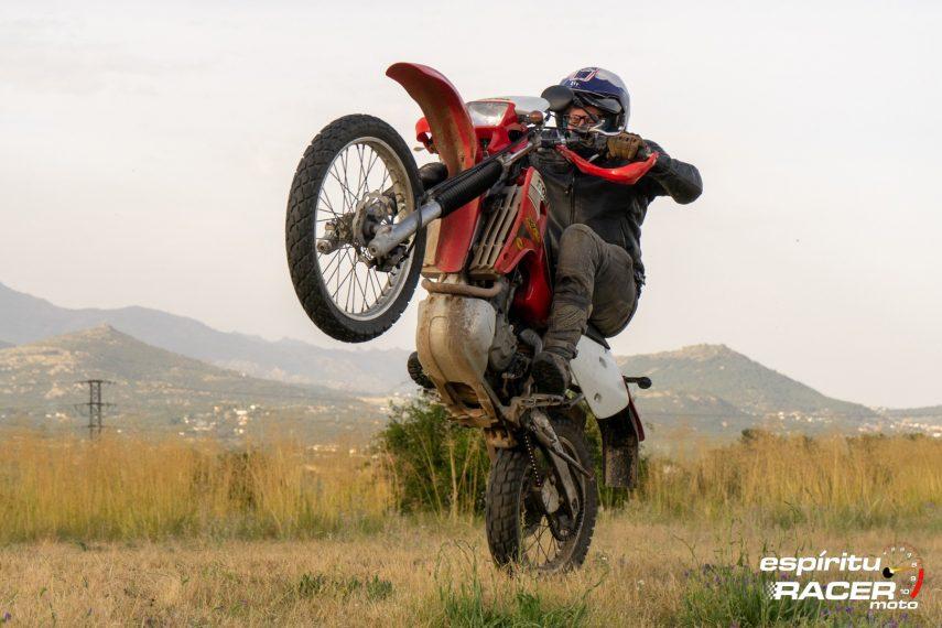 Prueba Honda XR 650 R 22