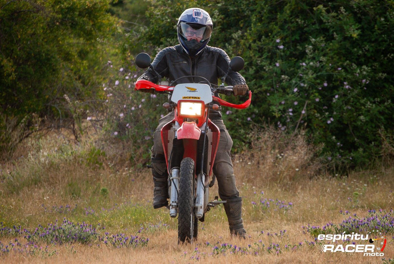 Prueba Honda XR 650 R 26