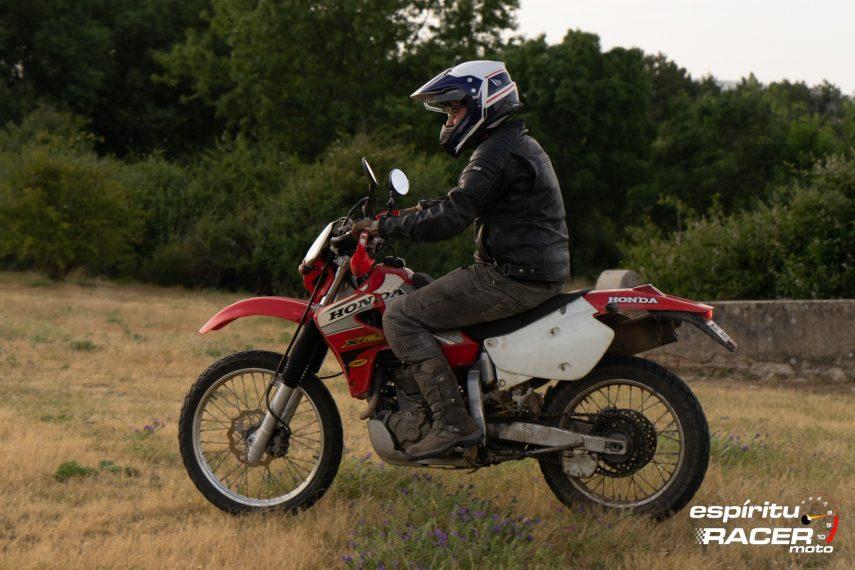 Prueba Honda XR 650 R 30