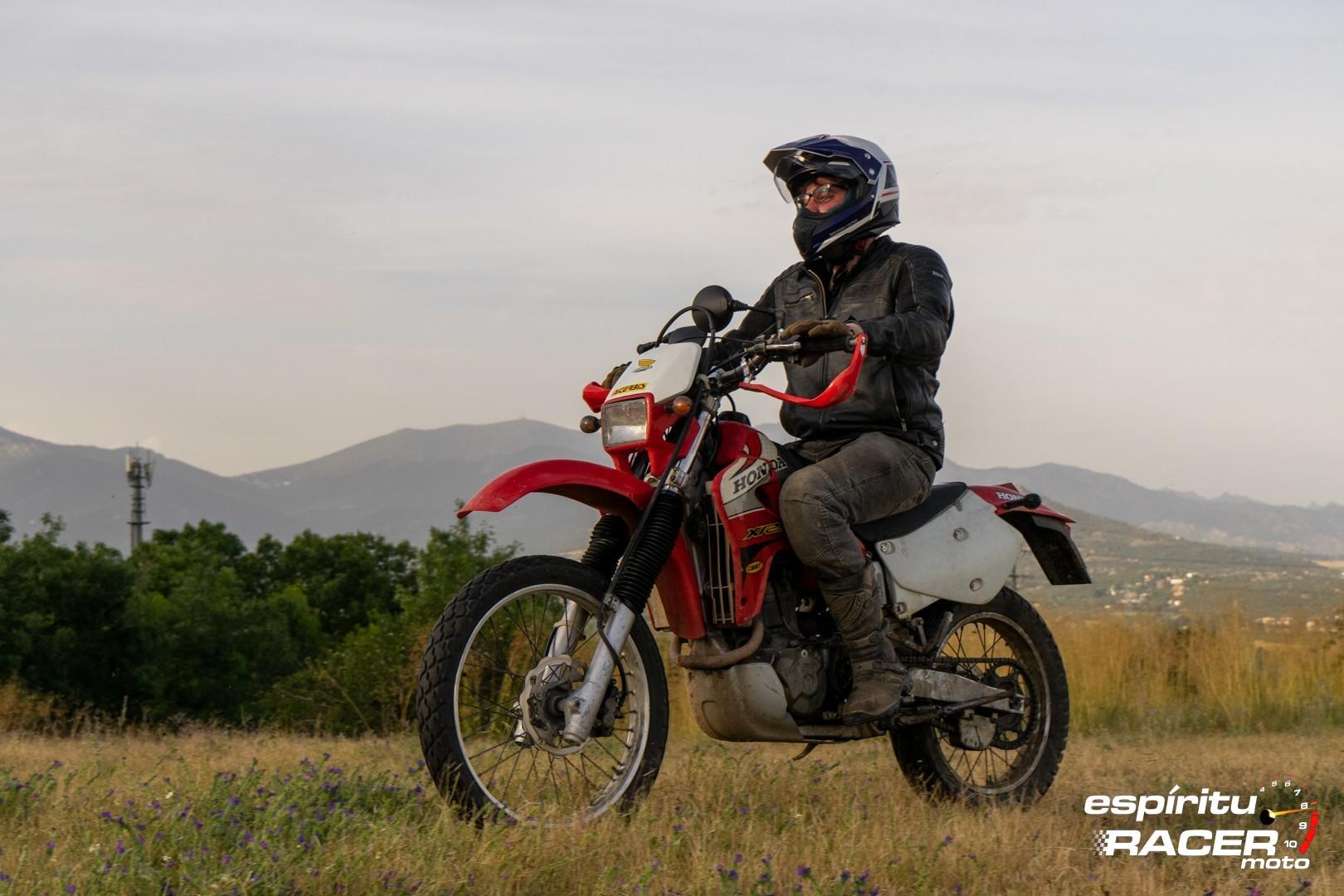 Prueba Honda XR 650 R 31