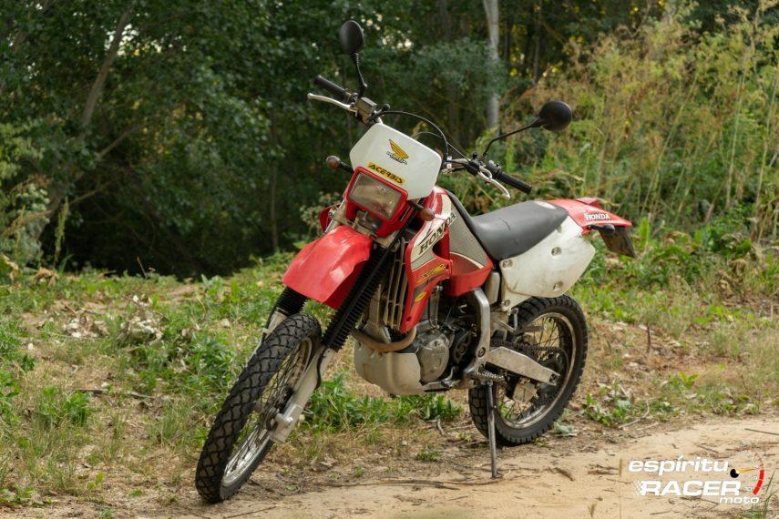 Prueba Honda XR 650 R 55