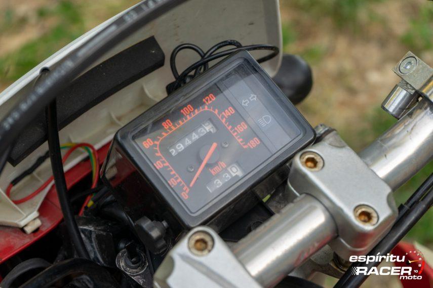 Prueba Honda XR 650 R 60
