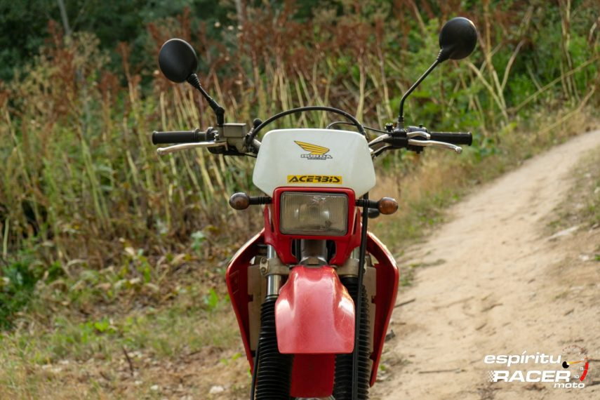 Prueba Honda XR 650 R 67