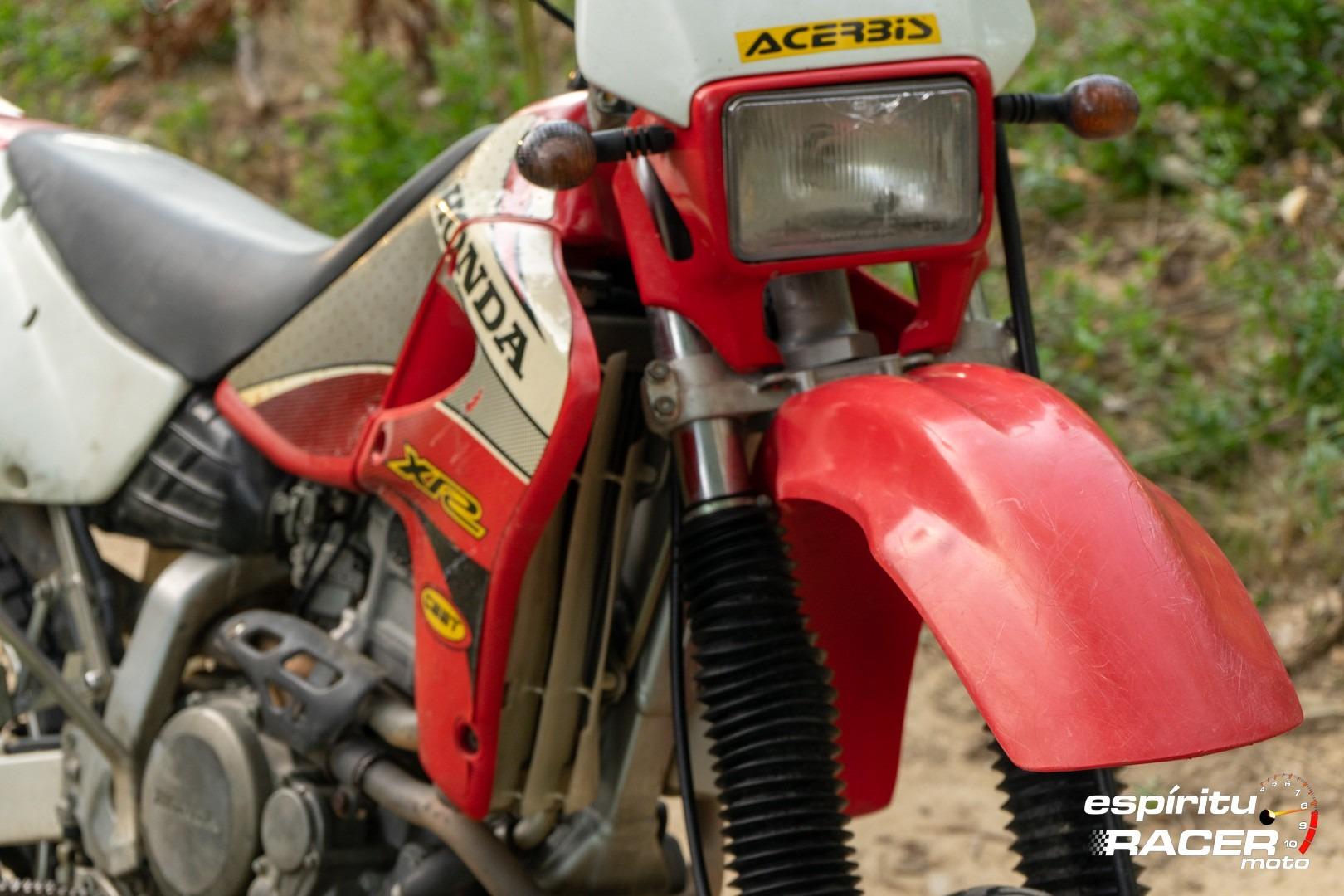 Prueba Honda XR 650 R 82