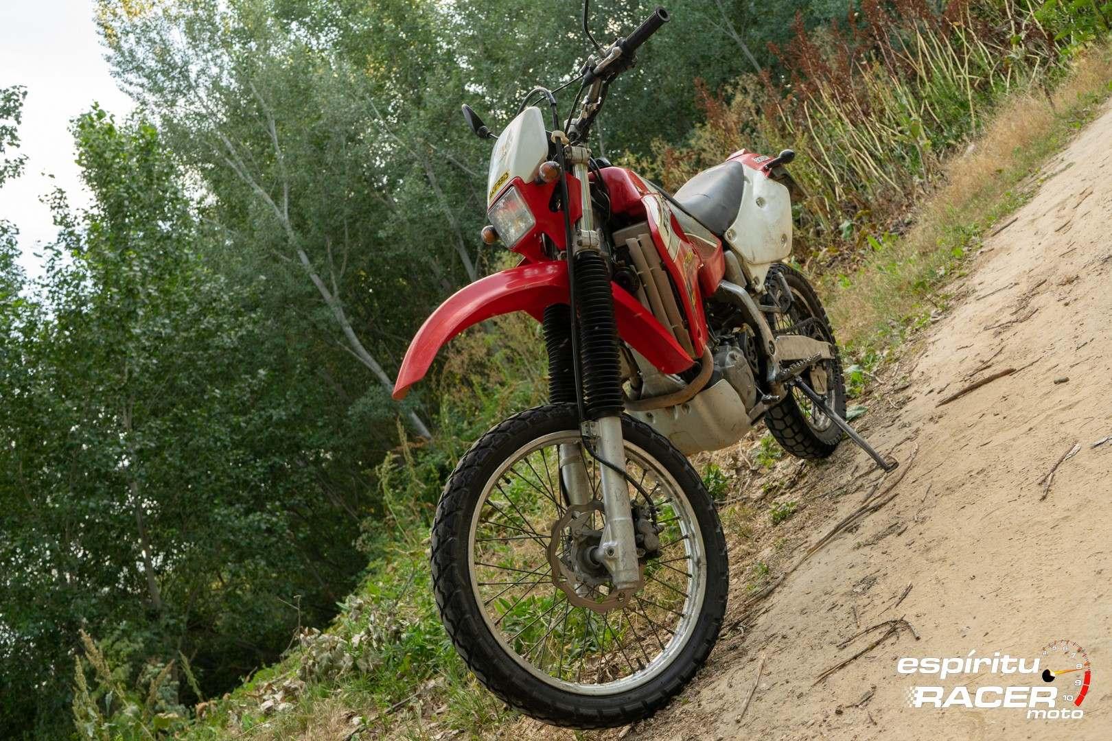 Prueba Honda XR 650 R 87
