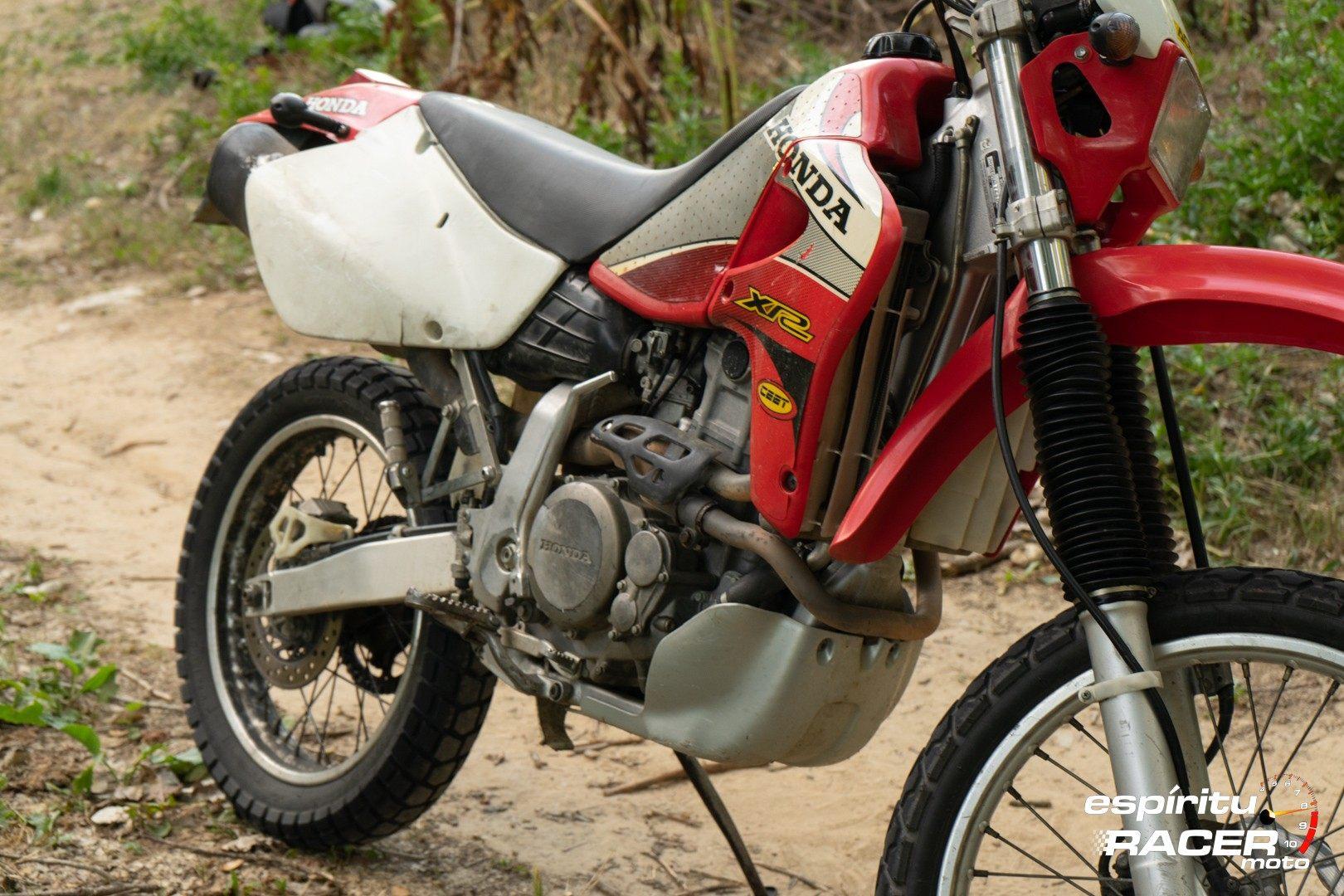 Prueba Honda XR 650 R 92