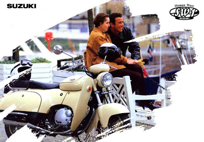 Moto del día: Suzuki SW-1